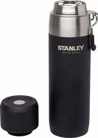 Stanley Master Vacuum Water Bottle 0.65l Black