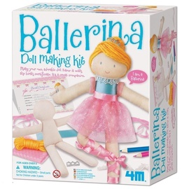 Siuvinėjimo rinkinys 4M Ballerina Doll Making Kit 2731