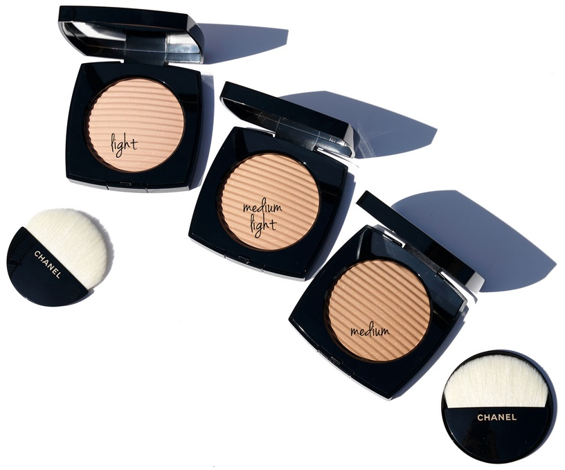 Bronzējošs pulveris Chanel Les Beiges Healthy Glow Luminous Colour Medium Deep, 12 g