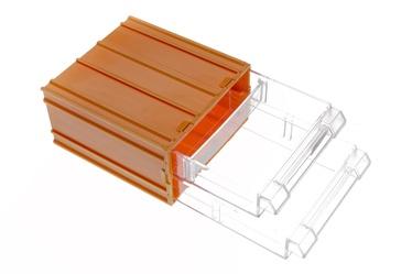 Pisiasjaade kast sahtlitega Forte tools, 11x12x6,2 cm