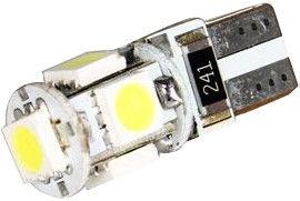 52de4958d03 AutoDuals 5x SMD-LED Canbus T10 12V White