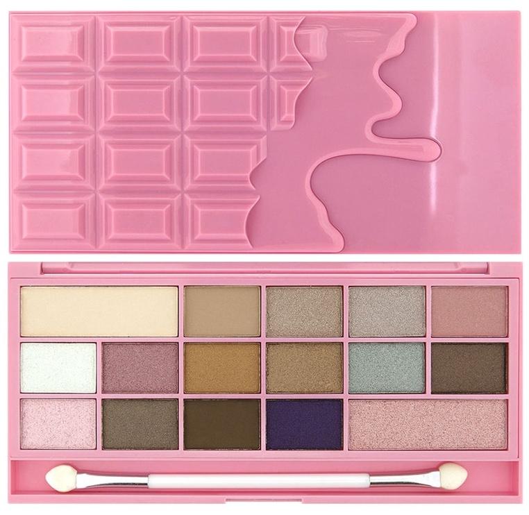 Makeup Revolution London I Love Makeup I Heart Chocolate Pink Fizz Palette 22g