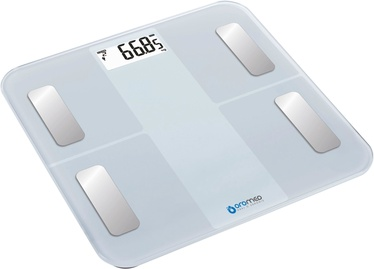 ORO-MED Bathroom Scale Bluetooth White