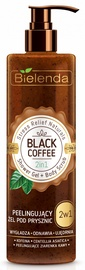 Bielenda Stress Relief Naturals Shower Gel + Body Scrub 410g Black Coffee