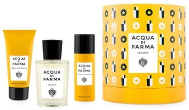 Rinkinys vyrams Acqua Di Parma Colonia 3pcs Gift Set 225 ml EDC Unisex