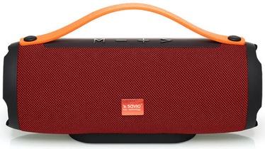 Belaidė kolonėlė SAVIO BS-022 Red, 10 W