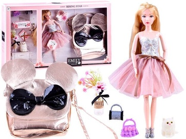 Кукла Doll Emily With Mouse Shape Bag