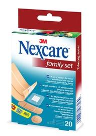 PLĀKSTERIS FAMILY CFK2X 20GAB (NEXCARE)