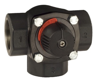 LK Armatur KVS-40 Cast Iron 3-way Valve 2""