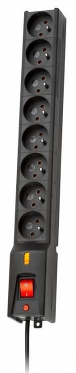 Lestar Surge Protector 8 Outlet Black 3m