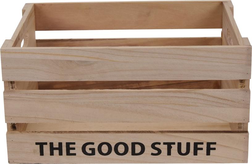 Dėžė medinė good stuff 31x21x16 vidutinė