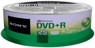Sony DVD+R 4.7GB 16x 25 pcs