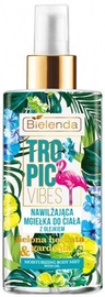 Bielenda Tropic Vibes Moisturizing Body Mist With Green Tea And Gardenia Oils 150ml