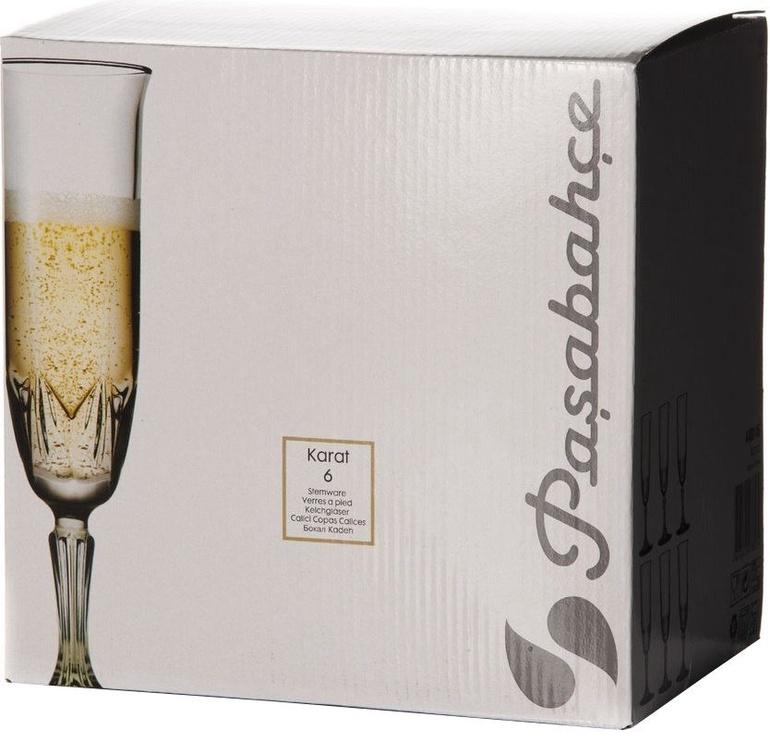 Pasabache Champagne Glass 160ml 6pcs