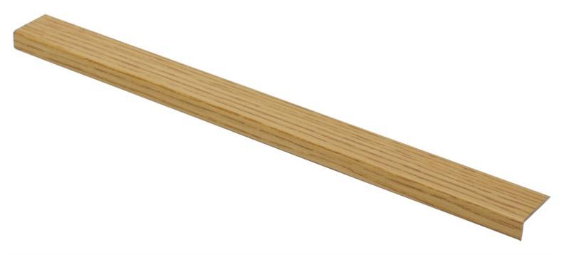 Laiptų kampas S01302, ąžuolo, 182 x 2.5 x 1 cm