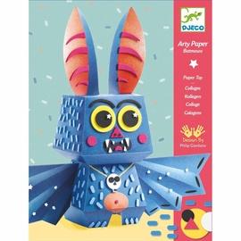 Djeco For Older Children Arty Paper Batmouss Paper Toy
