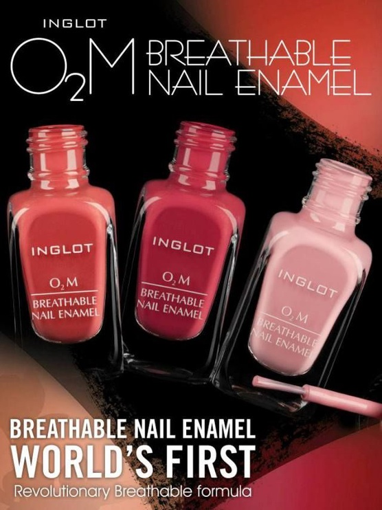 Inglot O2M Breathable Top Coat 15ml
