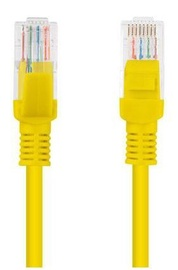 Lanberg Patch Cable UTP CAT5e 0.5m Yellow