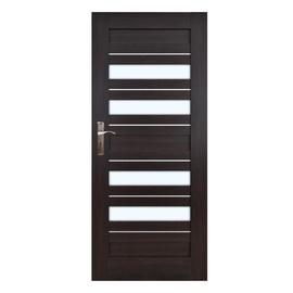Vidaus durų varčia Everhouse Bari 7/4, wenge, dešininė, 74.4x203.5 cm