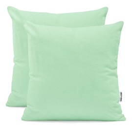 Наволочка DecoKing Amber Pillowcase Mint 50x50 2pcs