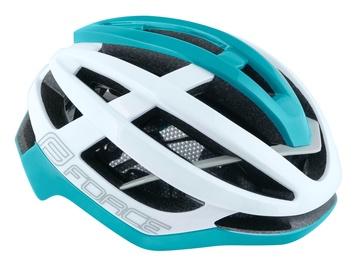 Шлем Force Lynx, синий/белый, L/XL, 580 - 620 мм