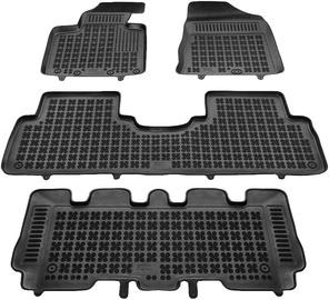 REZAW-PLAST Kia Sorento III 7 Seats 2015 Rubber Floor Mats