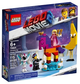 Конструктор LEGO The Movie Introducing Queen Watevra Wa'Nabi 70824