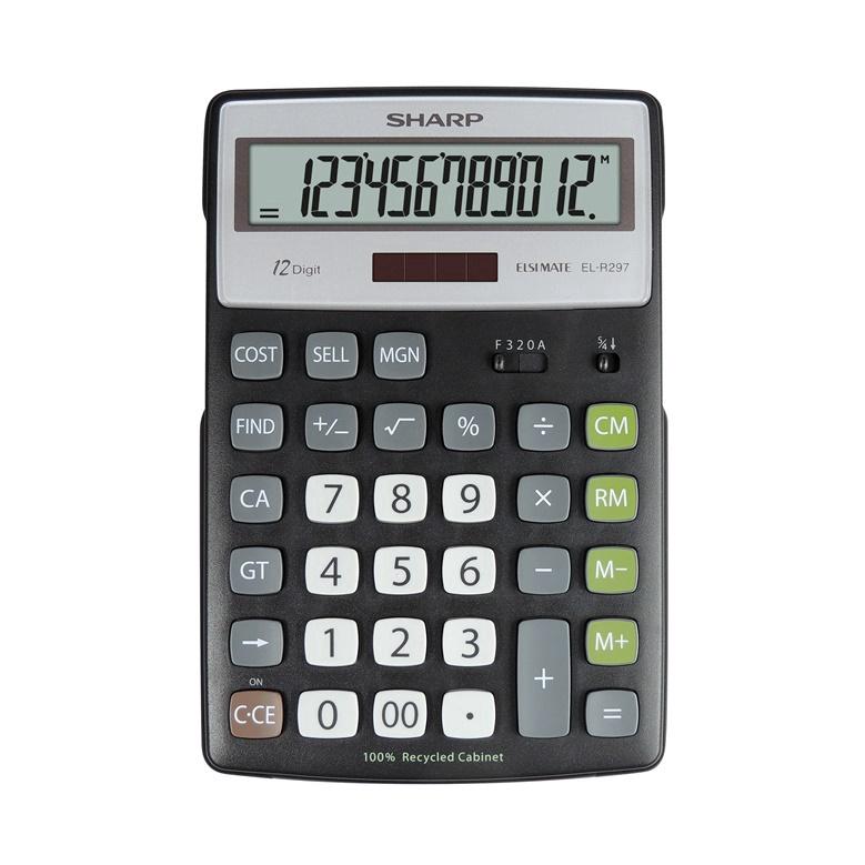 e2ea06ff122 Kalkulaator SHARP ELR297BBK - Krauta.ee