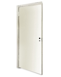 Vertikalioji durų stakta Viljandi, balta, 2060 x 92 x 42 / 29 mm, 2 vnt.