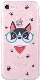 Devia Nifty Cat Back Case For Apple iPhone 7 Plus/8 Plus Transparent