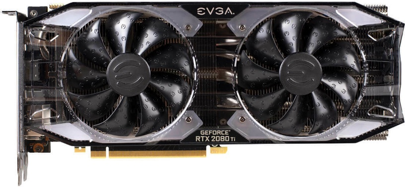 EVGA GeForce RTX 2080 Ti XC Black Edition Gaming 11GB GDDR6 PCIE 11G-P4-2282-KR