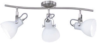Trio Ginelli Spotlight Wall Lamp 3x28W E14 Nickel