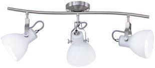 Trio Ginelli Spotlight Wall Lamp 3x28W E14 Nickel