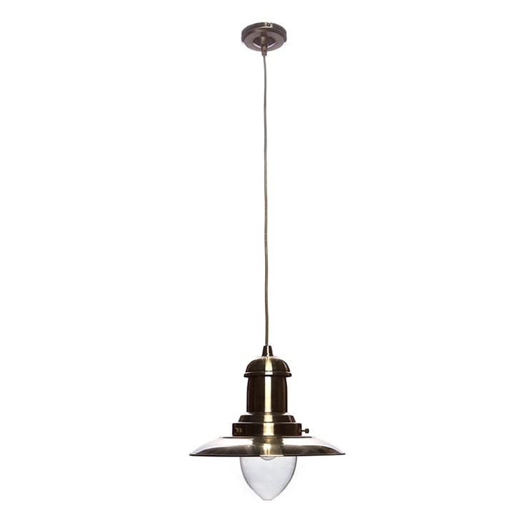 Griestu lampa Searchlight Fisherman 4301AB 60W E27