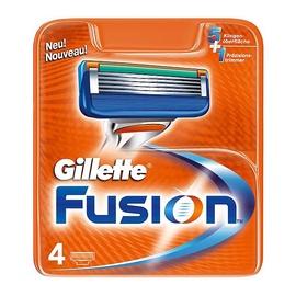 Skustuvo galvučių komplektas Gillette, Fusion, 4 vnt