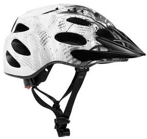 Шлем Spokey Checkpoint, белый/черный, 550 - 580 мм
