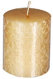 Verners Candle 6x7cm Gold
