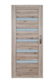 Vidaus durų varčia Turyn, sanremo ąžuolo, kairinė, 203.5x64.4 cm