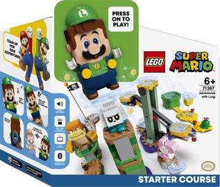 Конструктор LEGO Super Mario Стартовый набор «Приключения вместе с Луиджи» 71387, 280 шт.