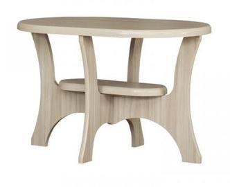 Kavos staliukas Bodzio S12, smėlio, 1100x600x590 mm