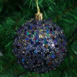 Ziemassvētku eglītes rotaļlieta Christmas Touch SYPMQB-1119121 Green, 80 mm, 3 gab.