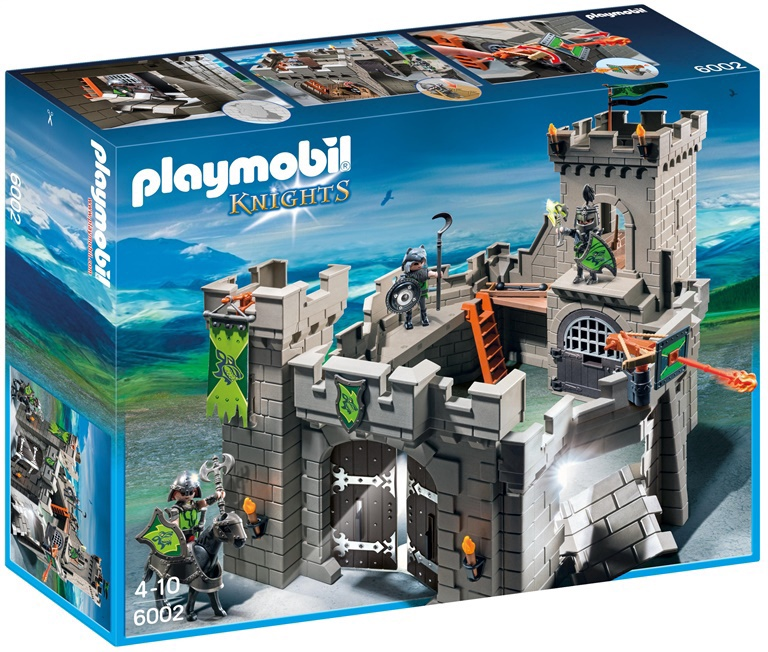 Konstruktor Playmobil Knights rüütlikindlus