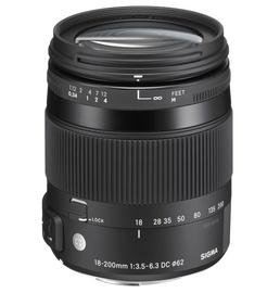 Sigma 18-200mm F3.5-6.3 DC OS HSM for Nikon