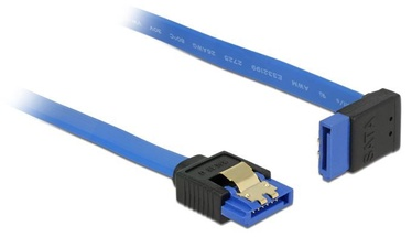 Delock Cable SATA 3 / SATA 3 Blue 1m