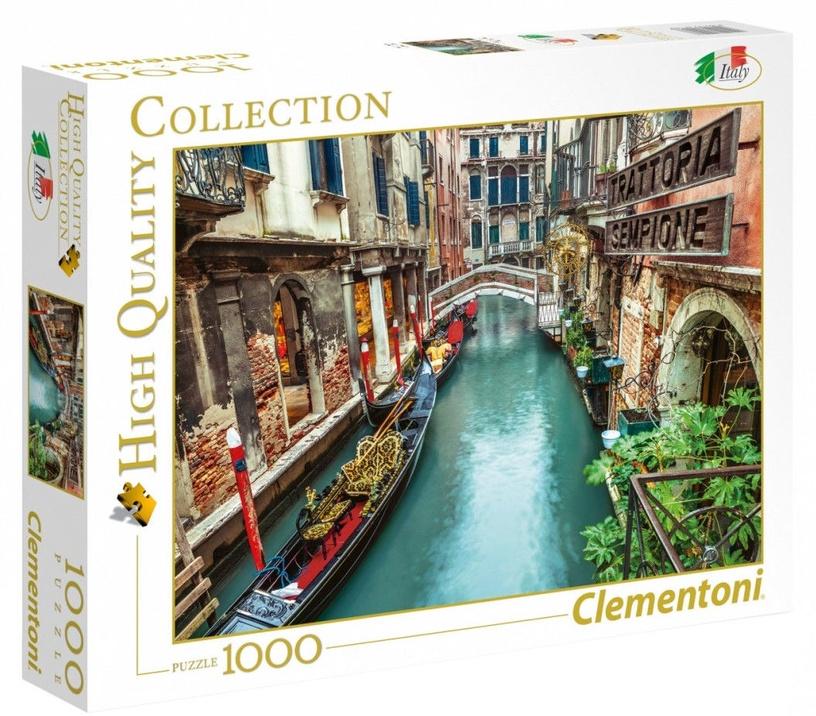 Puzle Clementoni High Quality Venice Canal, 1000 gab.