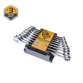 Kombinēto uzgriežņu atslēgu komplekts 11 gab. (Forte tools)