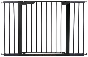 BabyDan Premier Safety Gate + 2 Ext Black