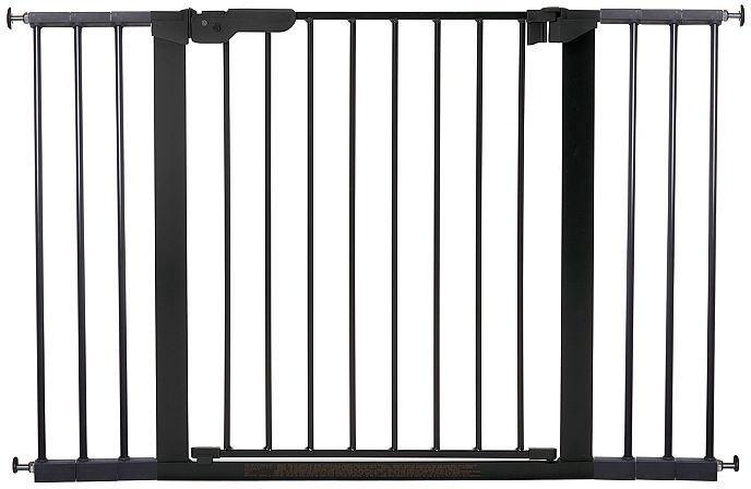 BabyDan Premier Safety Gate + 2 Ext Black
