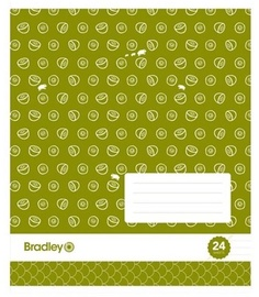 Bradley Notebook Green 24p 20pcs