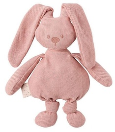 Nattou Knitted Cuddly Rabbit Old Rose